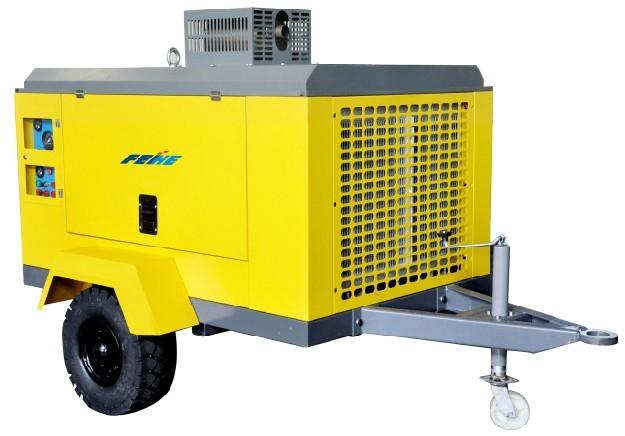 移动式螺杆空气压缩机